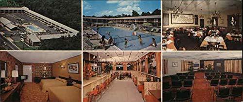 Millville Motor Inn Millville, New Jersey NJ Original Vintage Postcard