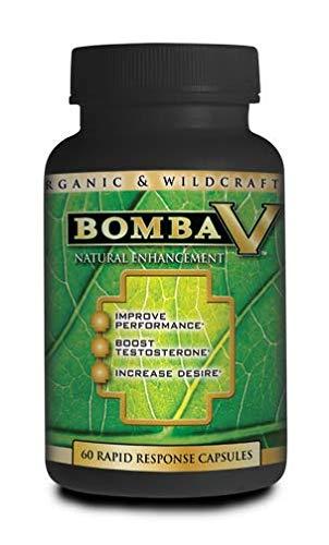 Bomba V Advanced Formula Sexual Enhancement 60 Caps by Essential Source - Vegetarian/Vegan