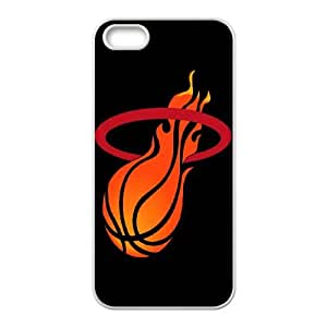 (HYTX) Miami Heat iPhone 4 4s Cell Phone Case White