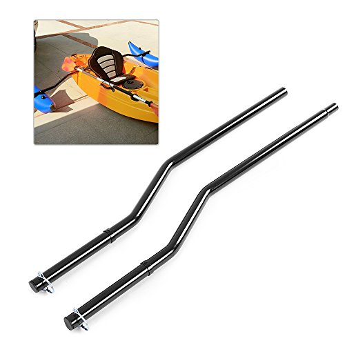 Fishing Boat Outriggers - Festnight 1 Pair Kayak Outrigger Sidekick Arms Canoe Boat Fishing Stablizer System Rack Mount
