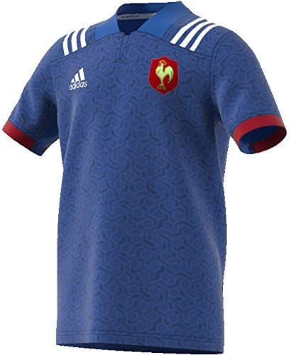 adidas Federación Francesa Camiseta de Equipación Niños: Amazon.es: Ropa y accesorios