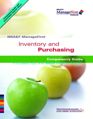 Inventory and Purchasing Competency Guide & Exam Prep...