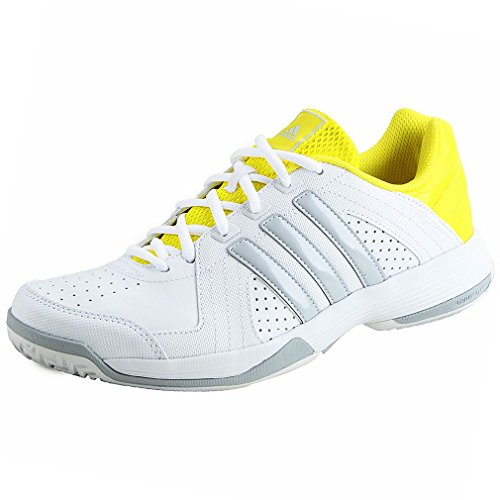 adidas Response Approach STR - Zapatillas de Tenis para Hombre, Color Blanco/Gris/Amarillo, Talla 41 1/3: Amazon.es: Zapatos y complementos