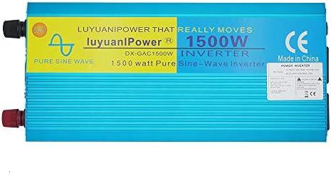 Yinleader Inversor De Corriente Onda Sinusoidal Pura 1500W 3000W ...