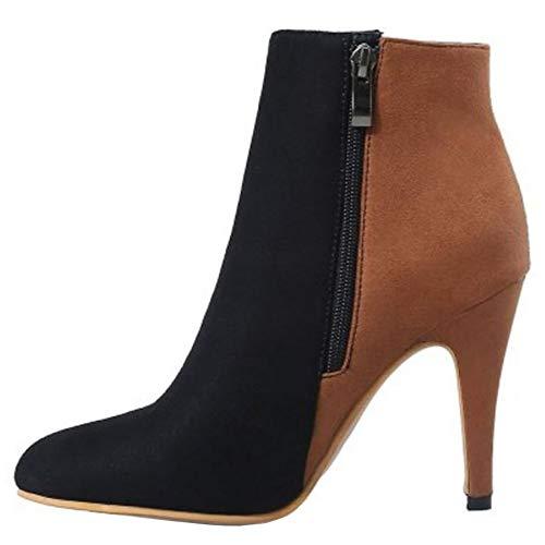 Sjjh Boots Ankle Sjjh Women Boots Women Brown Brown Women Sjjh Ankle 1rqgBp1