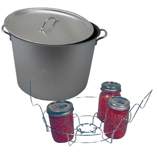 20 Quart Flat Bottom Water Bath Canning Set by Nordic Ware (Image #1)