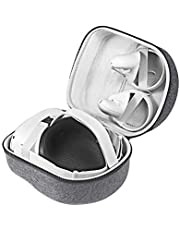 Esimen Hard Carrying Case for Oculus Quest/Quest 2 VR Gaming Headset and Controllers 64GB 128GB 256GB Protective Storage Travel Box(Grey)