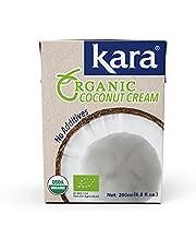 Kara Organic Coconut Cream With No Additives, 200 ml,8997212610405