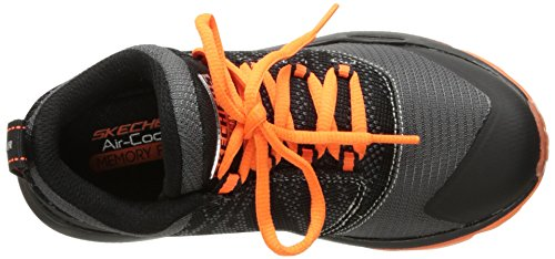 Skechers Orange Sneaker Kids Air Charcoal Street Black Kids rUqraAwC