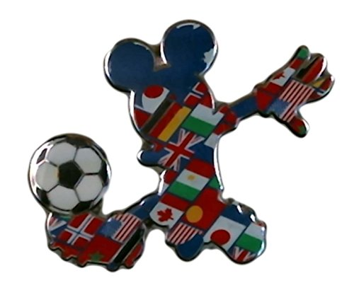 Disney Multi-Country Mickey Mouse Soccer Player Pin