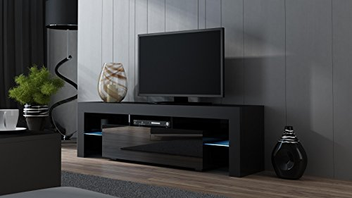Merveilleux TV Stand MILANO 160 Black  TV Cabinet With LEDs   Living Room Furniture   TV