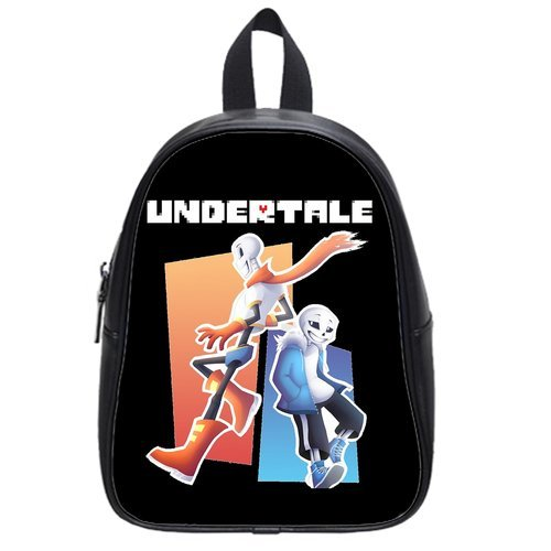 Undertale Sans And Papyrus School Bag / Color Black / Size Large