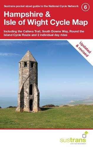 Hampshire & Isle of Wight Cycle Map: Including the Calleva Trail, South Downs Way, Round the Island Cycle Route and Two Individual Day Rides (CycleCity Guides)