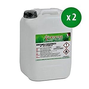 20 litri Bioetanolo MADE IN ITALY tuttobioetanolo.it (2 taniche da 10 lt) 4 spesavip