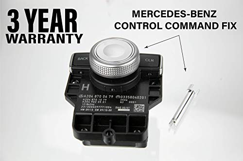 Fix your Console Command Controller Scrolling Issue for Mercedes-Benz 2008-2016 Knob Shaft Repair Multi-Switch Navigation GPS Music Control Monkey Proof Comand (2011 Mercedes E350 Navigation)