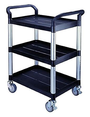 edulab 612 - 061 Laboratorio Carrito, 3 estantes, 250 kg: Amazon.es: Industria, empresas y ciencia