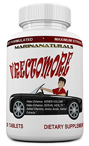 VRECTOMORE The Extreme Performance Amplifier with 20% ICARIIN, MacaPure™ and BioPerine™. Amino Acids & GABA. Enhancement Energy Complex for Men. Male Booster. 30 Pills ()