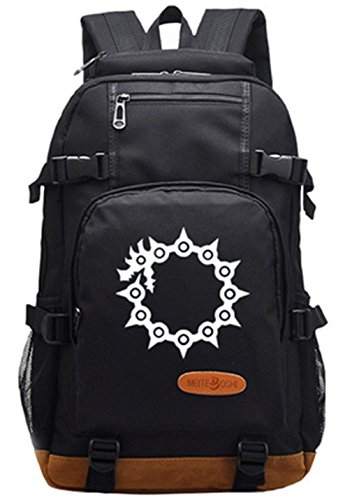 Gumstyle The Seven Deadly Sins Luminous School Bag College Backpack Bookbags Student Laptop - Girls Hawk For Backpack
