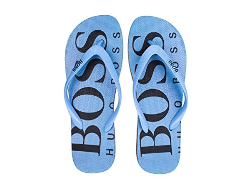 Boss Menns Wave_thng_digital Flip Flops Pastell Blå Blå Pastell