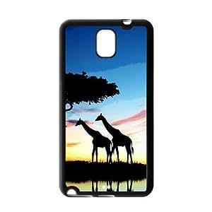 Fashion Custom Cute Giraffe Protection Hard For Iphone 4/4S Case Cover Hard