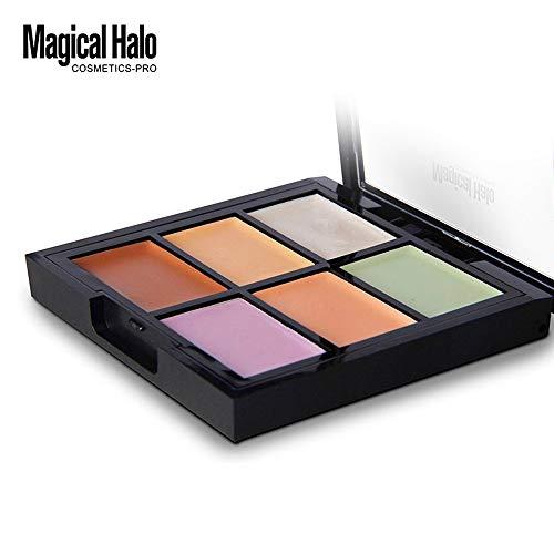 6 Color Makeup Concealer Foundation Moisturizing Waterproof Concealer