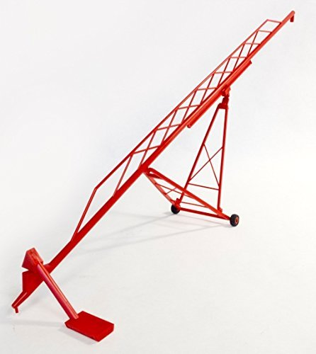 (Midwest Farm Models 1/64th scale 115' Grain Auger MW1001 Red)