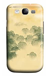 Cute Ink printing Designed PC Materical DIY Phone Case for Samsung s3/i9300