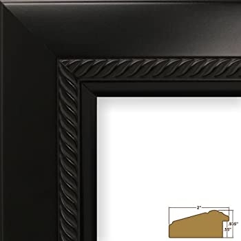 this item craig frames 8688 22 by 22 inch picture frame ornate finish 2 inch wide smooth black