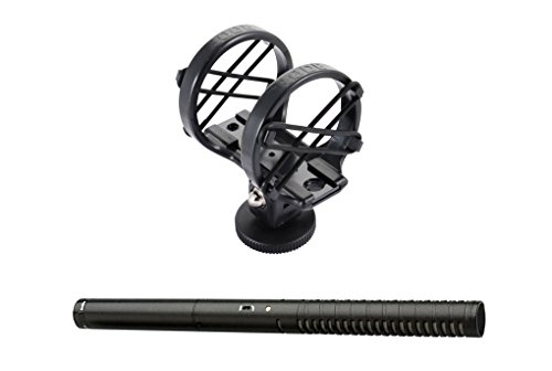RODE NTG2 Multi-Powered Condenser Shotgun Microphone + SM3 Camera Shoe Shock Mount