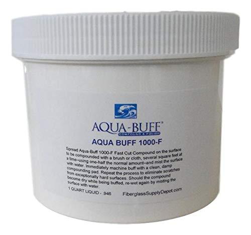 Fiberglass Supply Depot Aquabuff 1000 - Compound and Polish - Quart