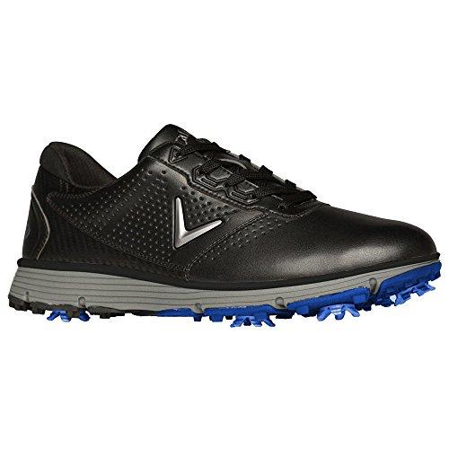 Callaway Men's Balboa TRX Golf Shoe, Black/Grey, 10.5 D US