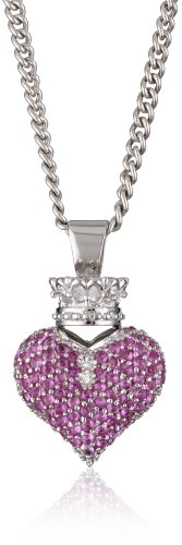 King Baby Large 3D Pave Pink C