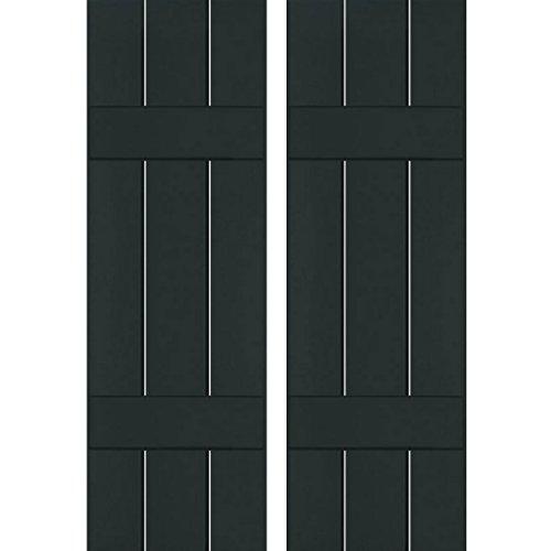 Ekena Millwork CWB12X041DGC Exterior Three Board