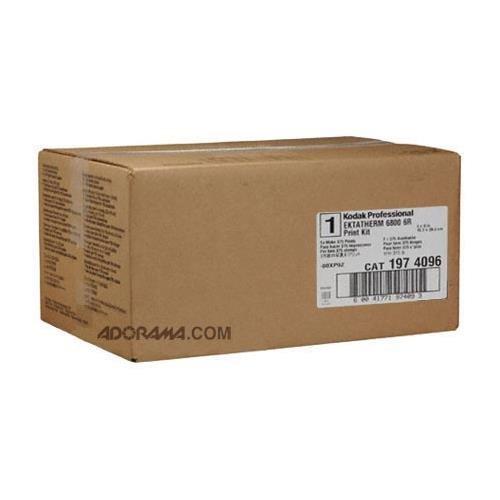 6r Print Kit (Kodak Professional Ektatherm 6800/6850 6R Print Kit, Ribbon & Paper for 375 6x8