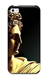 High Grade Eric S Reed Flexible Tpu Case For Iphone 5c - Statue
