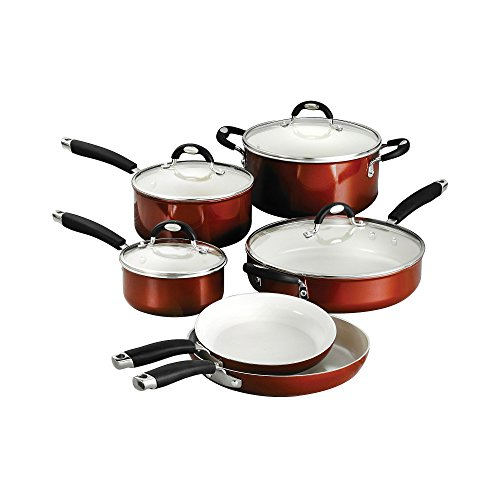 Tramontina 80110/220DS Style Ceramica_01 10 Piece Cookware Set by Tramontina