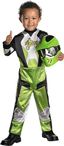 Motocross Costume For Kids (Disguise Lil' Motocross Rider Boys Costume, 4-6 by Disguise Costumes)