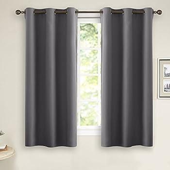 Amazoncom United Curtain Blackstone Blackout Window Curtain Panel