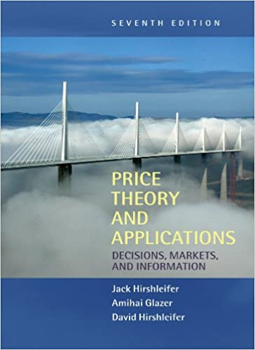 price theory and applications 7th edition