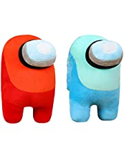 7.8inch/20cm Among Us Plush Stuff Animal Plushies Toys,Cute Soft Plush Among Us Plush Stuffed Animals Among Us Game Plush Toy Plushie Doll Gifts for Kids Birthday Christmas Xmas Gift