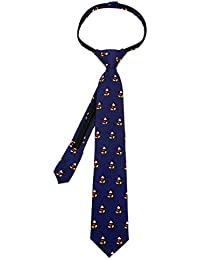 Cufflinks Inc Boys' Classic Mickey Mouse Zipper Tie