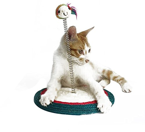 Freerun Cat Scratching Post Sisal Play Toy with Cat Toy - The Philadelphia Premium Outlets