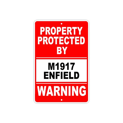Used, Protected by M1917 ENFIELD Gun Pistol Rifle Revolver for sale  Delivered anywhere in USA
