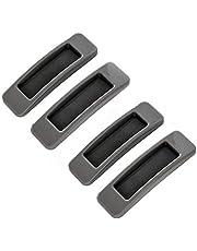 KtdaysB 4 Stuks Self Stick Instant Kabinet lade Handvat Helper Auxiliary Keuken Kabinet Deur Venster Sticker (Grijs)