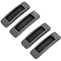 Kitchen-dream 4 Stuks Self Stick Instant Kast Lade Handvat Helper Auxiliary Keuken Kabinet Deur Venster Venster Sticker…