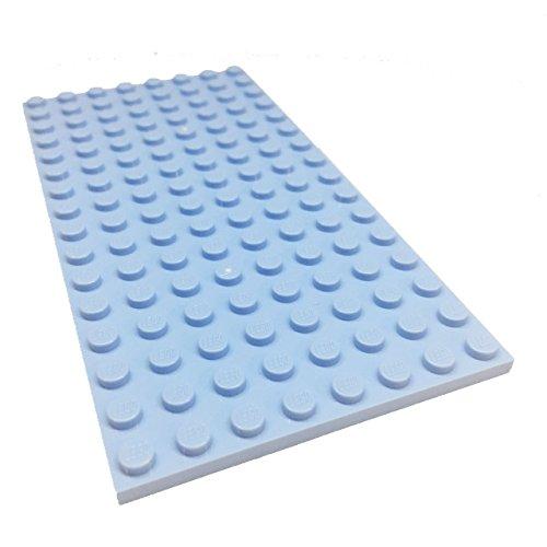 blue lego building plate - 5