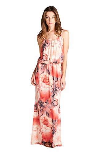 on-trend-womens-floral-rose-blouson-maxi-dress-medium-pink-coral