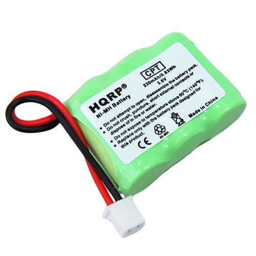 HQRP Battery for Dogtra KINETIC 20AAAAH3BMX Replacement fits 7000M Remote Controlled Dog Training Collar Receiver plus Coaster