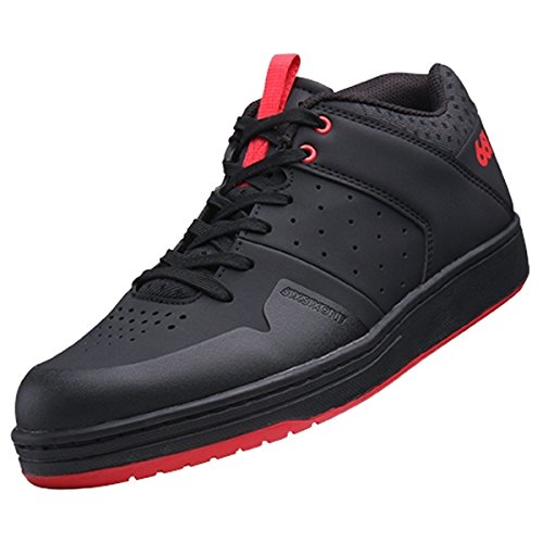 Sixsixone filtro Zapatos Flat, Black, 43/10