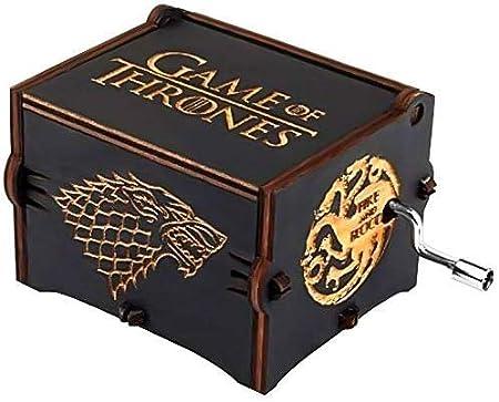 Funmo - Premier - Caja de música, con el Grabado Game of Thrones ...
